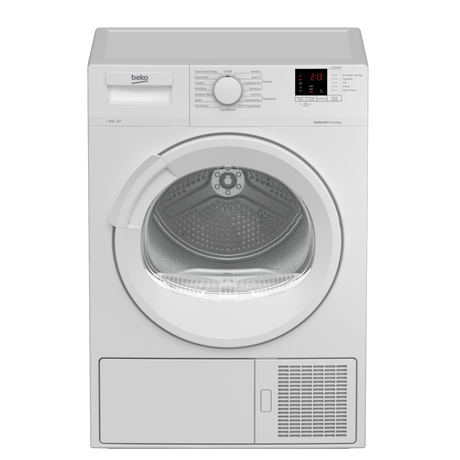 Image of DTLP81141W 8kg A+ Heat Pump Tumble Dryer | White