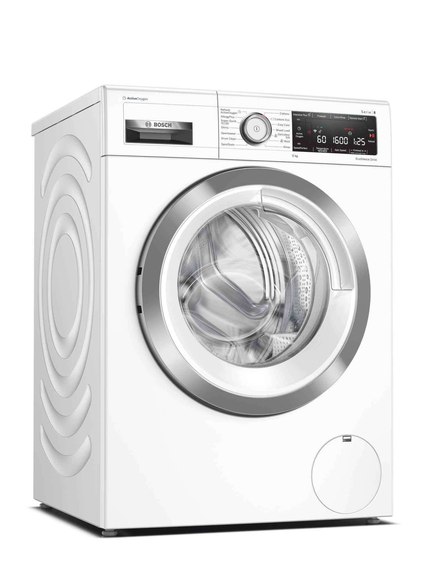 Image of Serie 8 ​WAX32LH9GB 9Kg 1600 Spin A+++ i-DOS Washing Machine | White