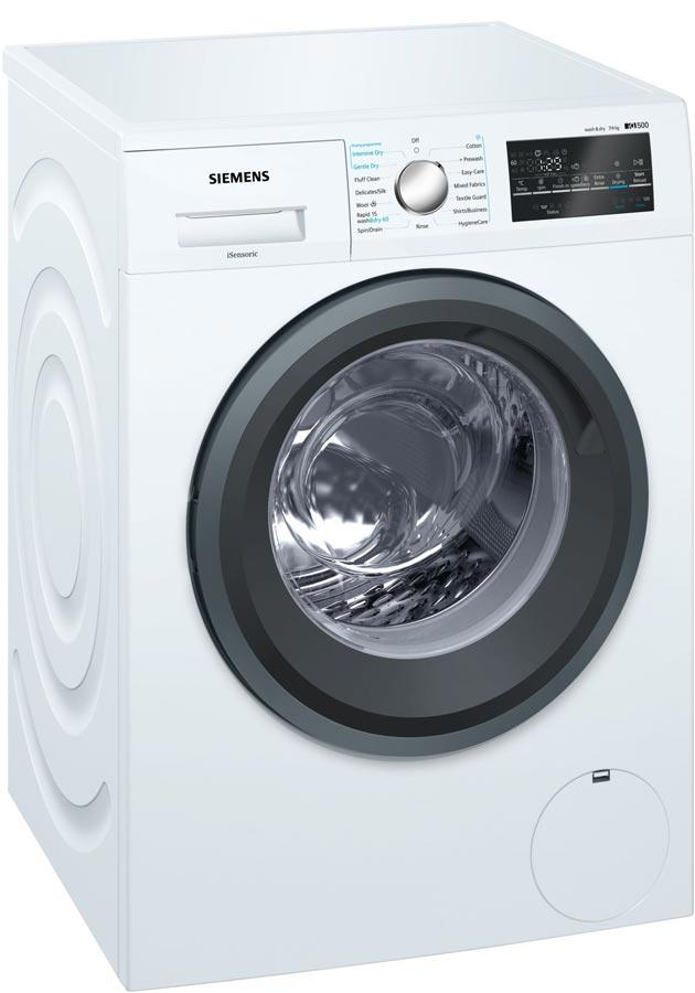 Image of iQ500 WD15G422GB 7Kg Wash 4Kg Dry 1500 Spin A Rated Washer Dryer | White
