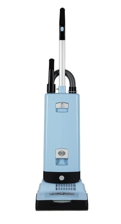 Image of Automatic X7 ePower Upright Vacuum Cleaner - Pastel Blue