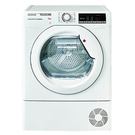 Image of HLXC9TE 9kg B Rated Condenser Tumble Dryer | White
