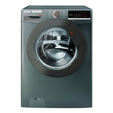 Image of H3W58TGGE 8kg 1500 Spin A+++ Washing Machine - Graphite