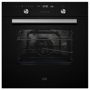 Image of Cooke & Lewis CLPYBLa Black Built-in Electric Single Pyrolytic Oven