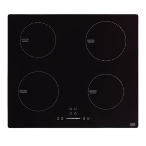 Image of Cooke & Lewis LinkTech 4 Zone Black Glass Induction Hob (W)600mm
