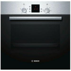 Image of Bosch HBN331E5B Brushed steel Electric Single fan oven
