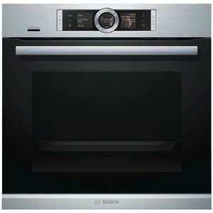 Image of Bosch HBG656RS6B Black Electric Single oven