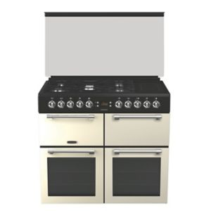 Image of Leisure Freestanding Dual fuel Range cooker with Gas & electric hob CC100F521C