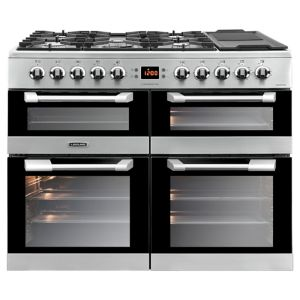 Image of LEISURE Cuisinemaster CS100F520X Dual Fuel Range Cooker - Stainless Steel, Stainless Steel