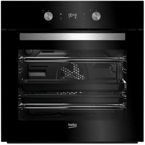 Image of Beko BQM24301BCS Black Built-in Electric Single Multifunction Oven