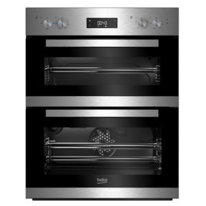 Image of Beko BTQF22300X Stainless steel Electric Multifunction double oven