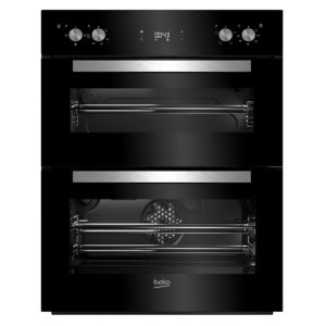 Image of Beko BTQF24300B Black Electric Built in double oven