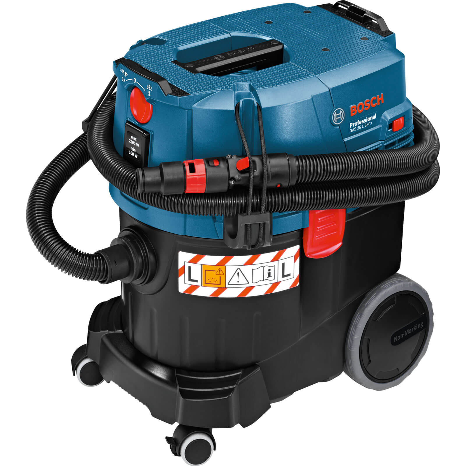 Image of Bosch GAS 35 L SFC+ Wet and Dry Dust Extractor 240v