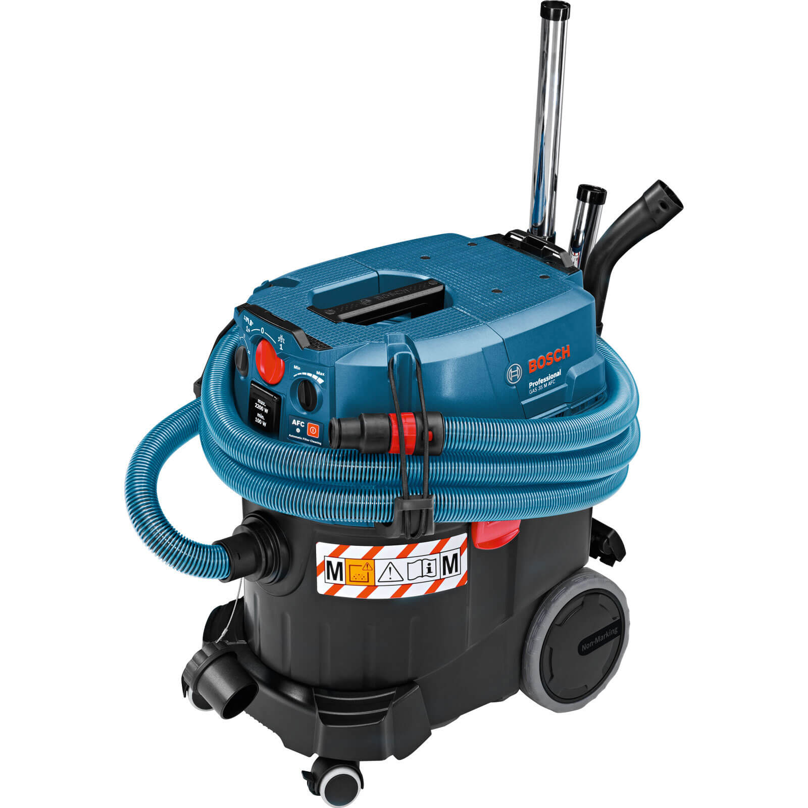 Image of Bosch GAS 35 M AFC Wet and Dry Vacuum Cleaner and Dust Extractor 110v