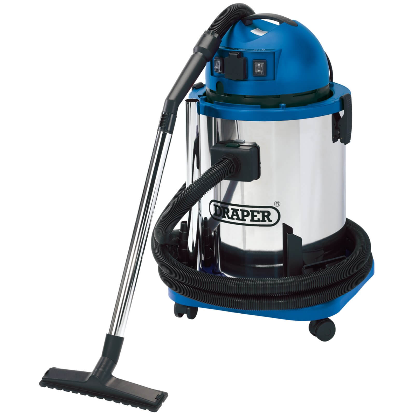 Image of Draper WDV50SS Wet and Dry Vacuum Cleaner 240v
