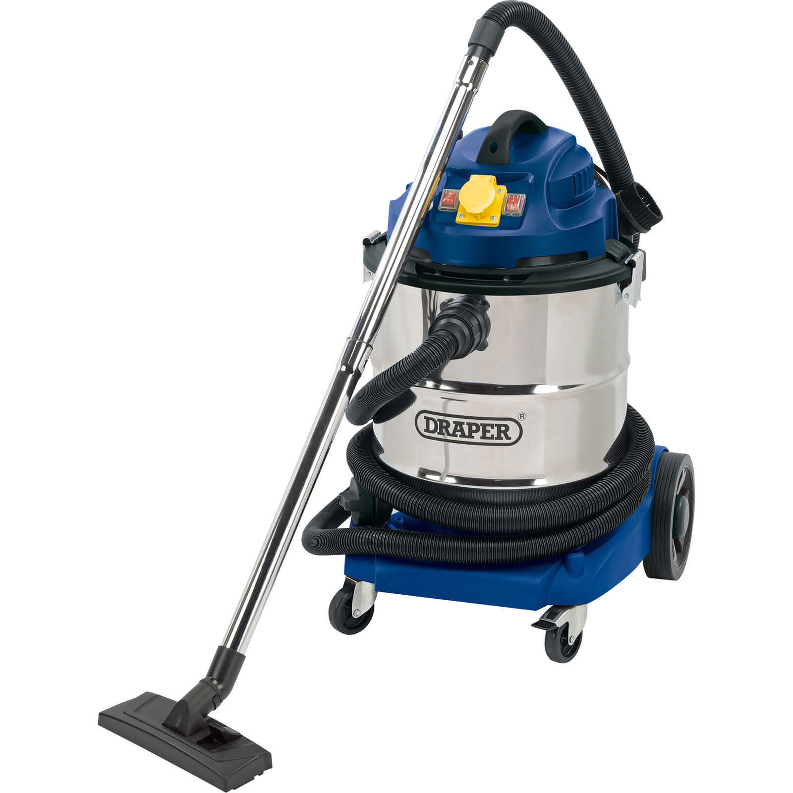 Image of Draper WDV50SS Wet and Dry Vacuum Cleaner 110v
