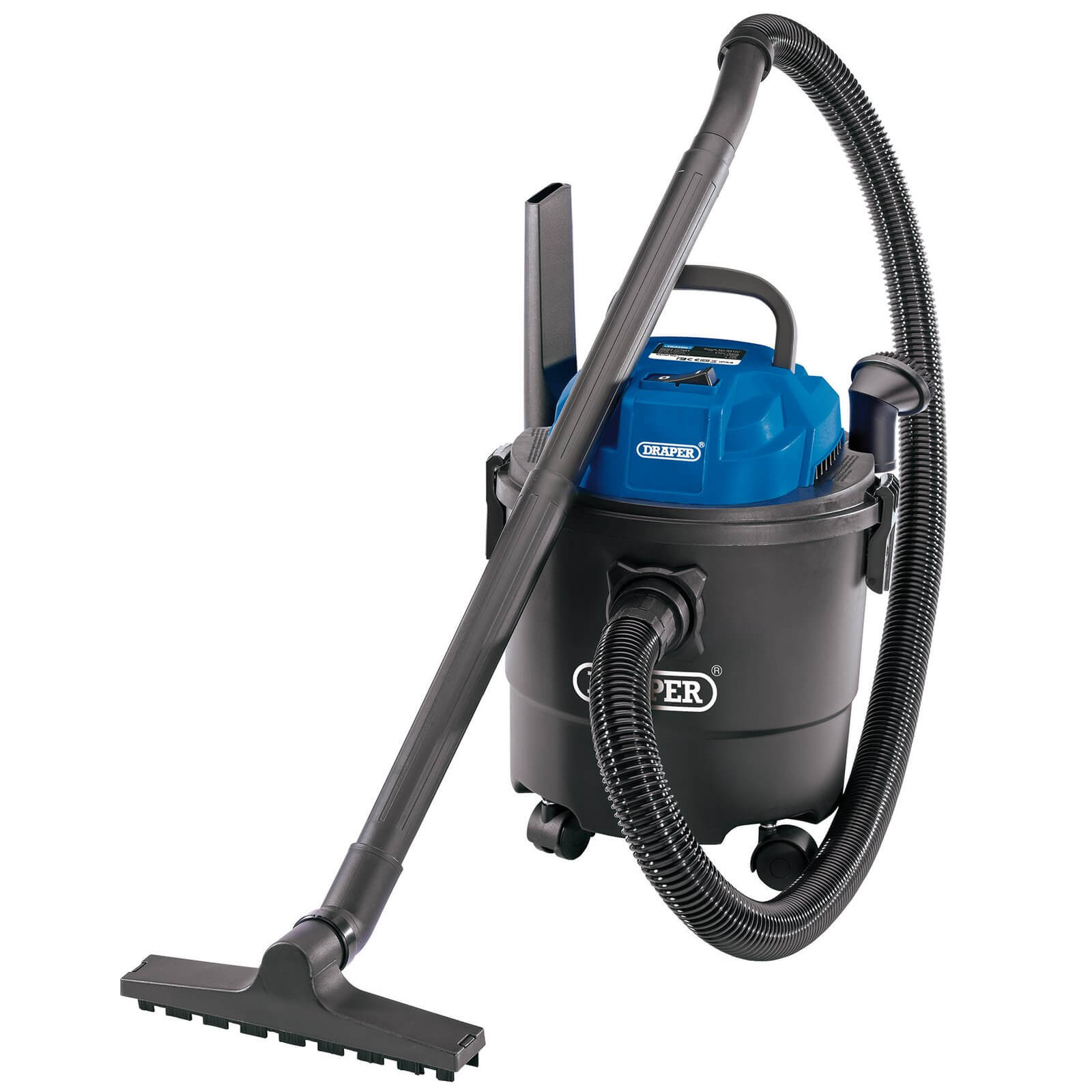 Image of Draper WDV15P Wet and Dry Vacuum Cleaner 240v