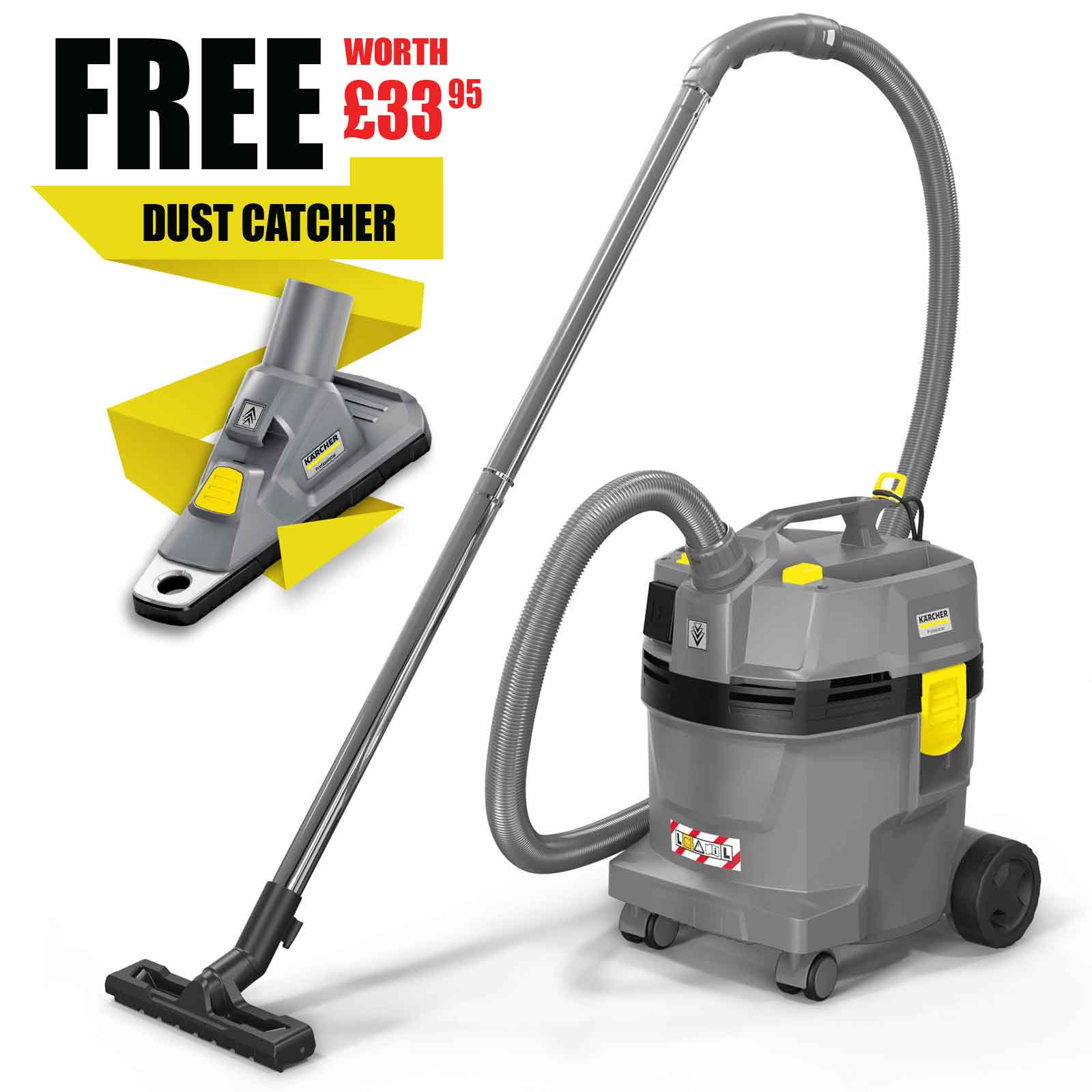 Image of Karcher NT 22/1 AP TE Professional Vacuum Cleaner 240v