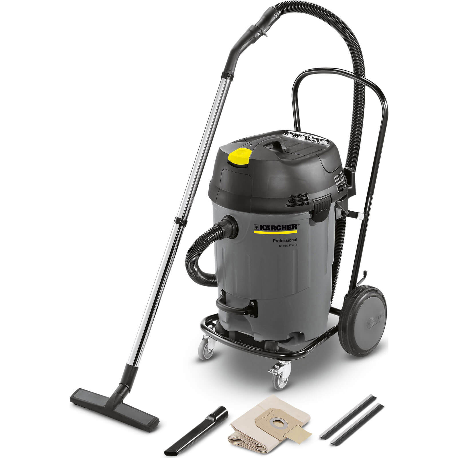 Image of Karcher NT 65/2 AP Professional Wet and Dry Vacuum Cleaner 240v