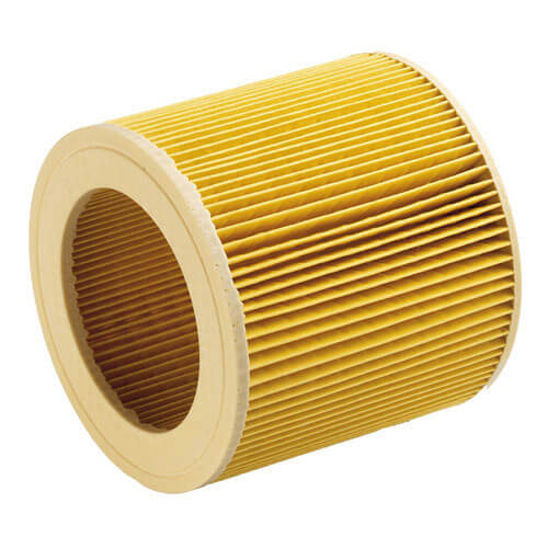 Image of Karcher Cartridge Filter for MV or WD 1, 2 and 3 Series Vacuum Cleaners