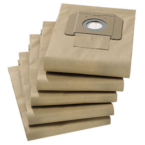Image of Karcher M Class Fleece Filter Dust Bags for NT 35/1 Vacuum Cleaners Pack of 5