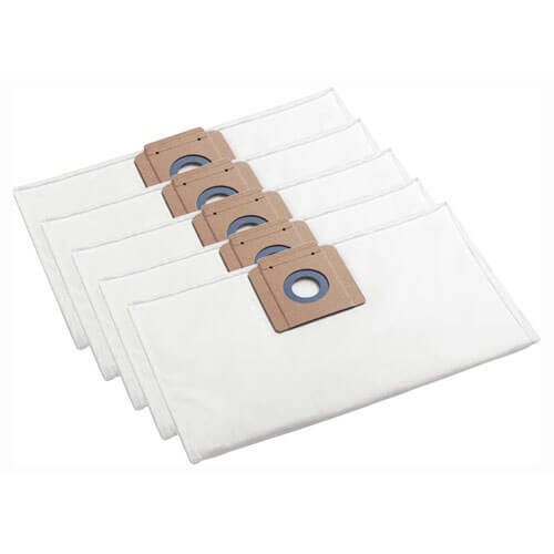 Image of Karcher M Class Fleece Filter Dust Bags for NT 35/1, 361 and 45/1 Vacuum Cleaners Pack of 5