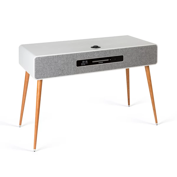 Image of R7 Mk3 High Fidelity Radiogram CD, DAB, Bluetooth in Soft Grey