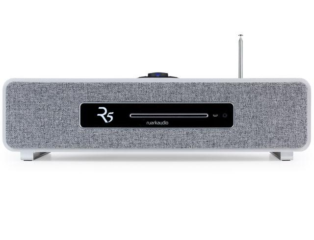 Image of R5 High Fidelity Music System CD, DAB, Bluetooth | Soft Grey Lacquer