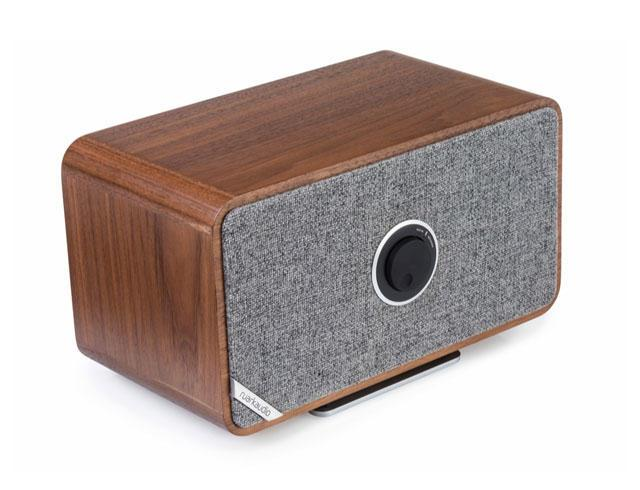 Image of MRx Bluetooth Connected Wireless Speaker System - Rich Walnut Veneer