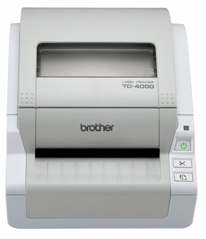 Image of Brother P-touch TD-4000 Label Printer