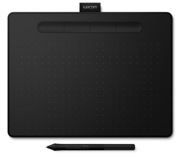 Image of Wacom CTL-6100WLK-N Intuos Medium Pen Tablet with Bluetooth Black
