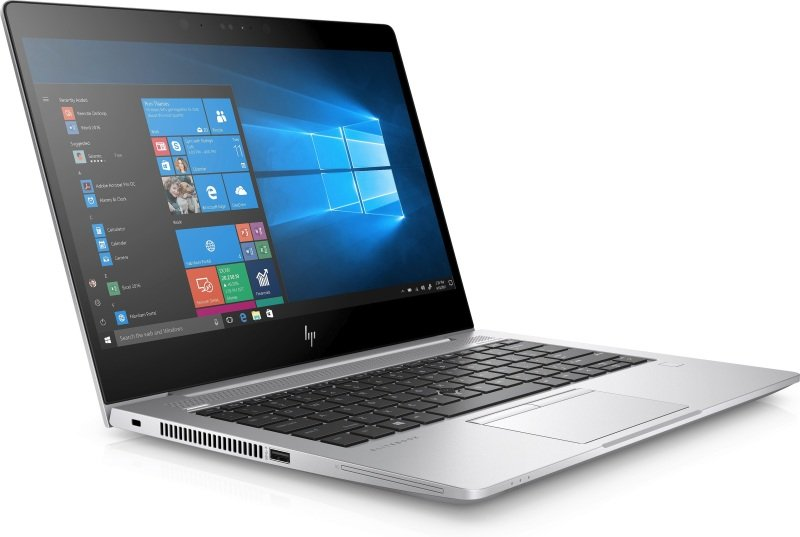 Image of HP EliteBook 830 G5 Laptop, Intel Core i5-8250U 1.6GHz, 8GB RAM, 256GB SSD, 13.3 Full HD privacy, No-DVD, Intel UHD, Windows 10 Pro 64