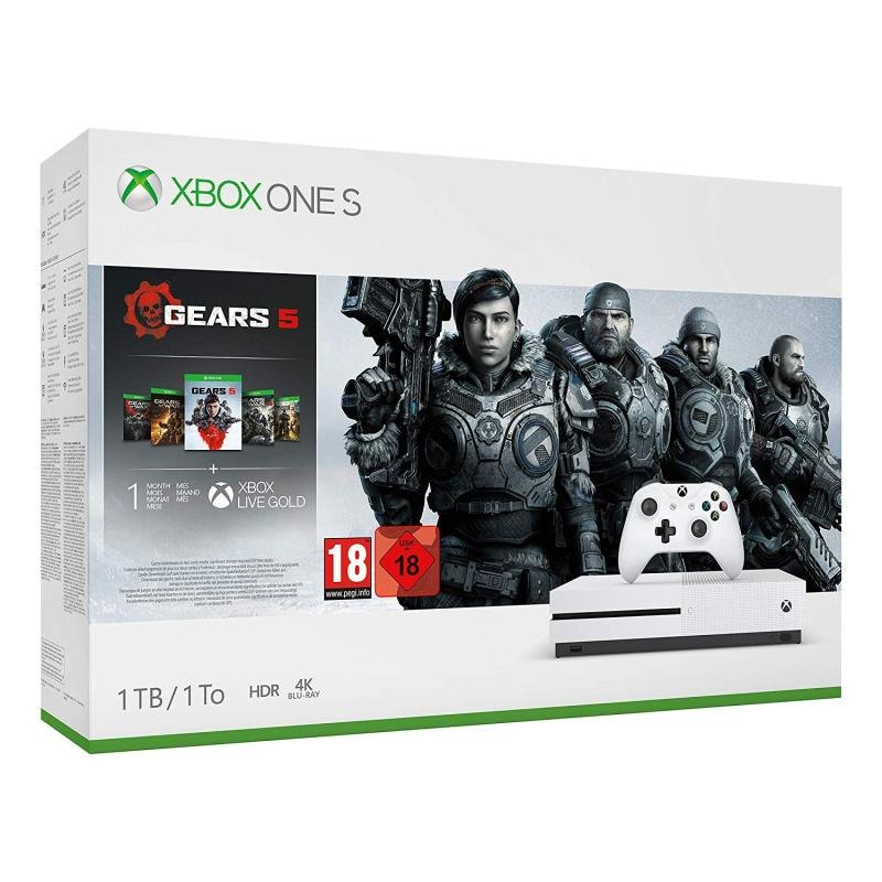 Image of Xbox One S Gears 5 Bundle