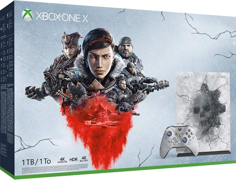 Image of Xbox One X With Gears 5CYV-00327