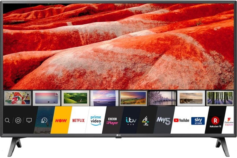 "Image of LG 43UM7500 43"" 4K Ultra HD HDR Smart TV With Freeview Play"