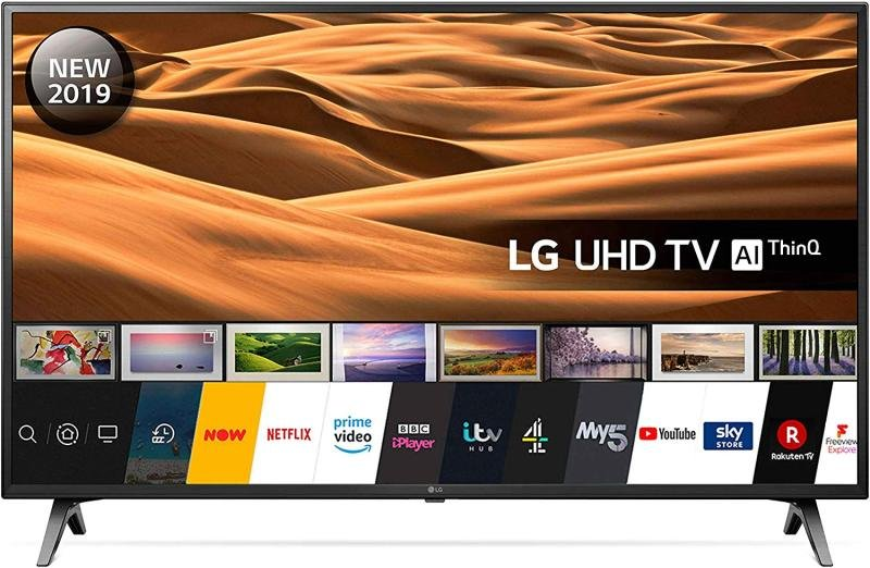 "Image of LG 55UM7100PLB 55"" UHD 4K HDR Smart LED TV with Freeview Play"