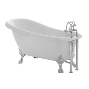 Image of Cooke & Lewis Duchess Acrylic Keyhole Freestanding Bath (L)1700mm (W)630mm