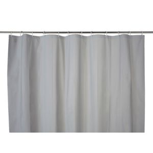 Image of Cooke & Lewis Palmi Silver Shower Curtain (L)1800 mm