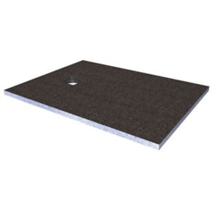 Image of Aquadry End Drain Shower Tray Former Kit (L)1200mm (W)900mm