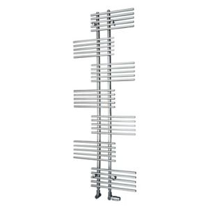 Image of Ximax Parallel-Rail 694W Electric Towel warmer (H)1762mm (W)650mm