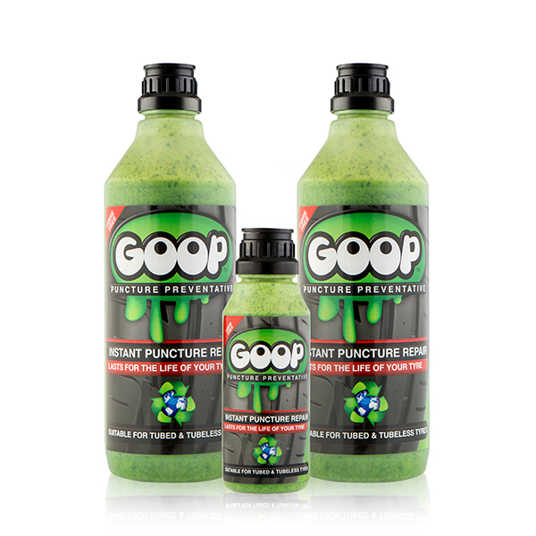 Image of Goop Puncture Preventative 2 x 1L Bottles and 1 x 250ml Bottle