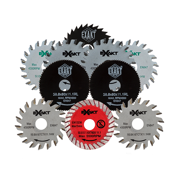 Image of 10 Piece Blade Set for Exakt Saw EC320