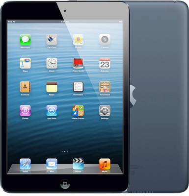 "Image of Apple iPad Mini 7.9"" (2012) WiFi Only (16GB Space Grey) at £268.00 on No contract."