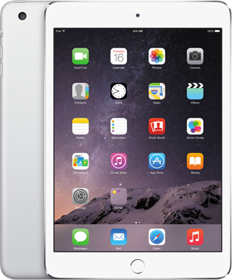 "Image of Apple iPad Mini 7.9"" (2012) WiFi Only (16GB Silver) at £268.00 on No contract."
