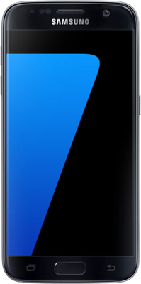 Image of Samsung Galaxy S7 (32GB Black Onyx) at £264.99 on Pay Monthly 1GB (24 Month(s) contract) with 500 mins; UNLIMITED texts; 1000MB of 4G data. £19.99 a month.