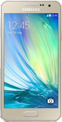 Image of Samsung Galaxy A3 2017 (16GB Golden Sand) at £249.00 on No contract.