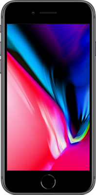 Image of Apple iPhone 8 (256GB Space Grey) at £779.00 on No contract.