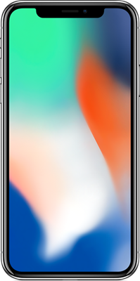 Image of Apple iPhone X (256GB Silver) at £1109.00 on No contract.