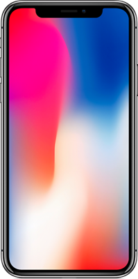 Image of Apple iPhone X (256GB Space Grey) at £1109.00 on No contract.