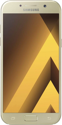 Image of Samsung Galaxy A5 2017 (32GB Golden Sand) at £289.00 on No contract.