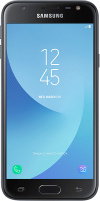 Image of Samsung Galaxy J3 (2017) (16GB Black) at £169.00 on No contract.